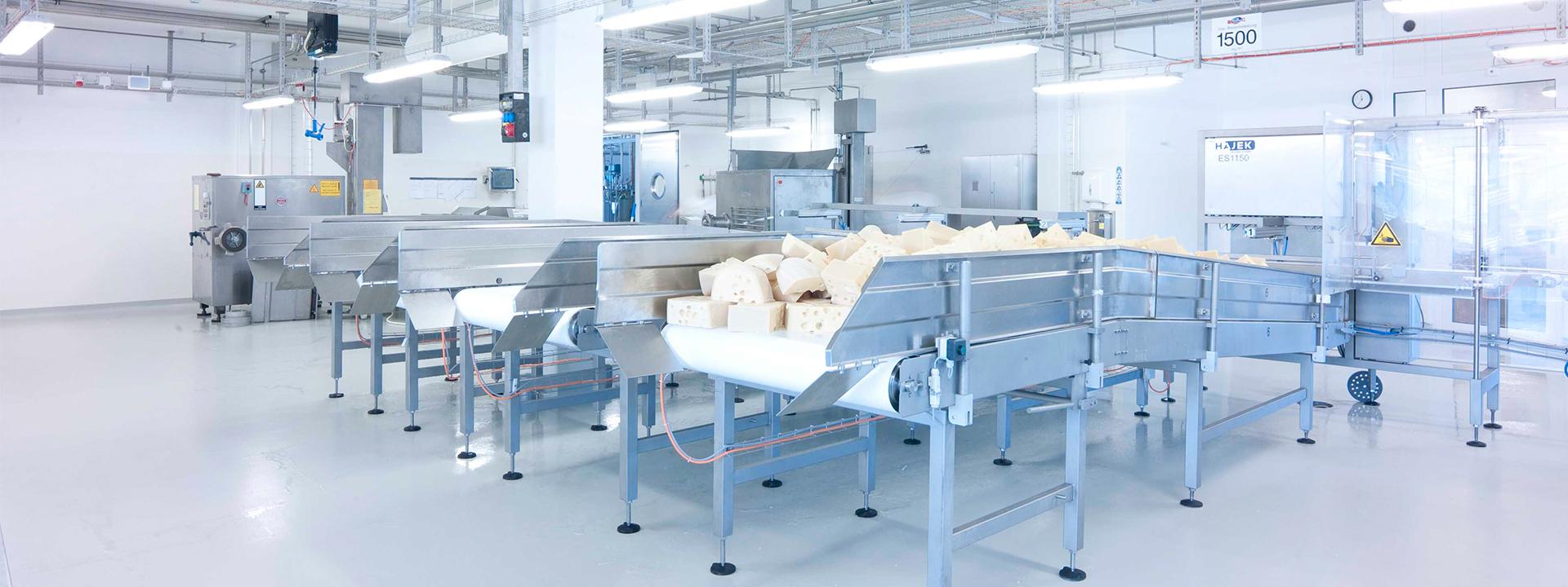 Header Projekt Food Emmi Produktionsstandort mit Hygiene- und Materialflusskonzept