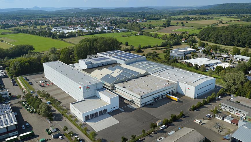 IE-Masterplan und Generalübernahme für einen Erweiterungsbau zur Lebensmittelproduktion, Hügli, Radolfzell.
