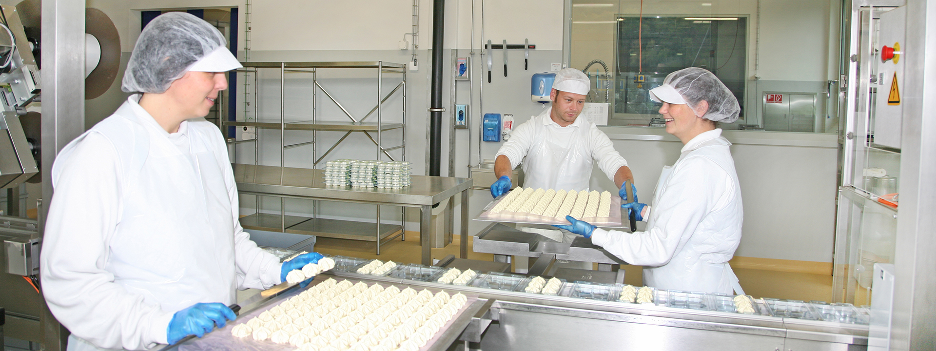 Produktion im Neubau des Standorts von Pacovis