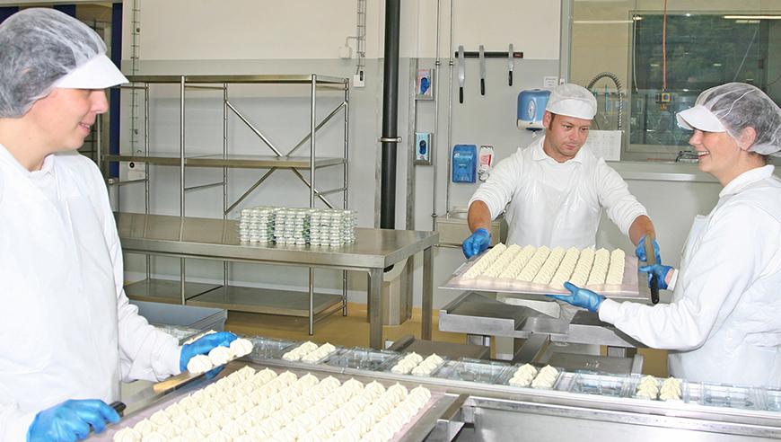 IE-Masterplan für den Neubau eines Standorts für die Lebensmittelproduktion, Pacovis AG, Stetten.
