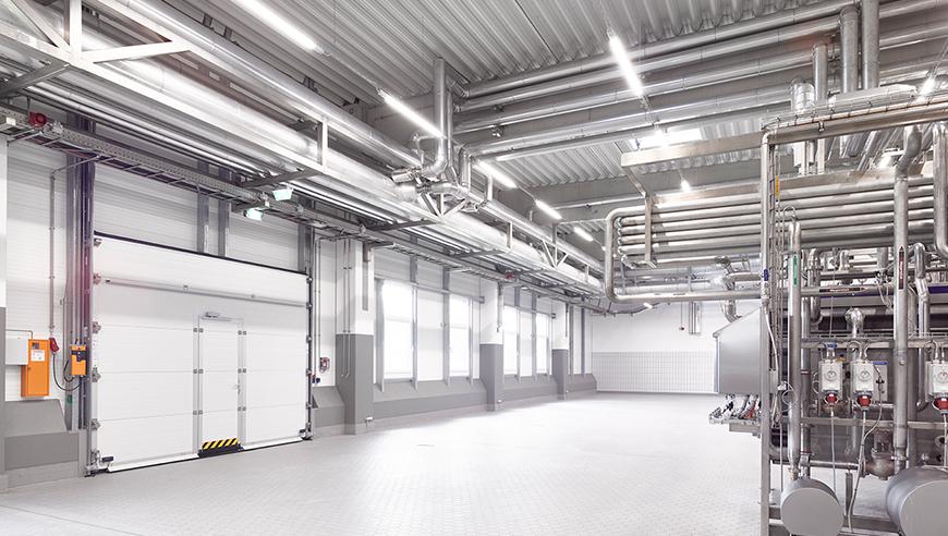 Generalübernahme für den Neubau einer Meierei mit Bio-Kläranlage.