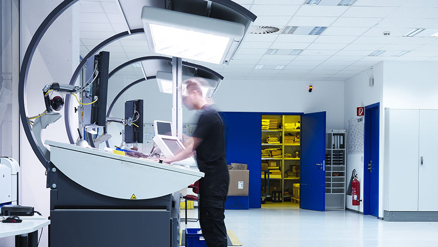 Planning and constructing a new printing centre with post distribution.