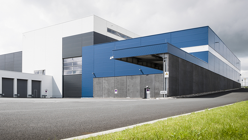 Constructing a new, functional printing plant with process-optimised newspaper production.