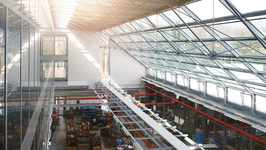 Wettbewerbsfähige Betriebsprozesse durch eine optimale Fabrikplanung.