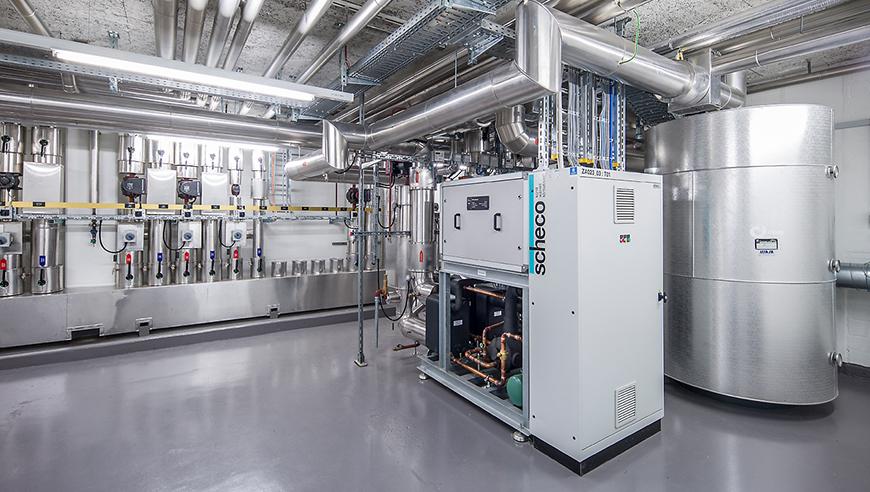 Bauplanung und Realisierung eines Erweiterungsbaus mit neuem Energiekonzept, Otto Fischer AG.