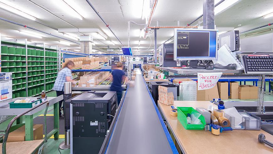 Produktion Projekt Industrial Otto Fischer Masterplan für Prozessoptimierung