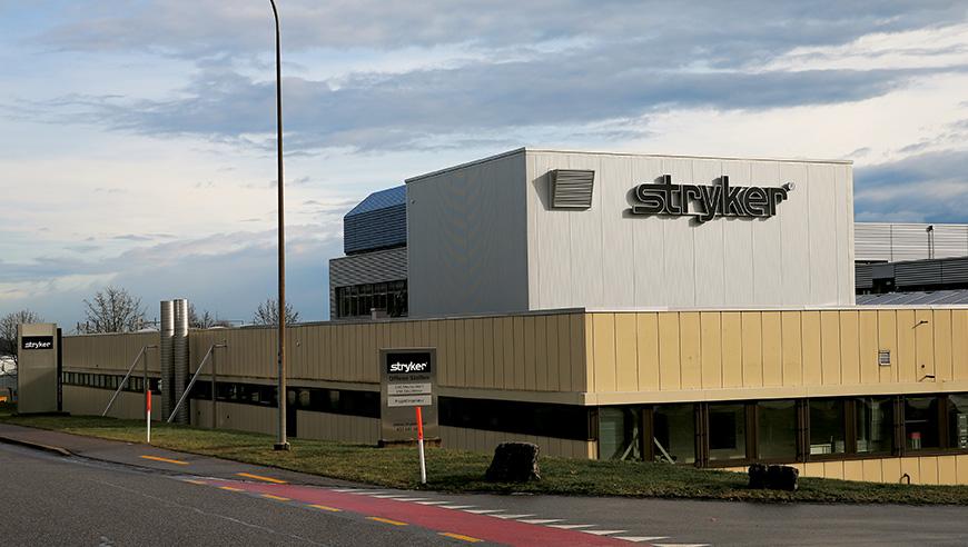 Reinraumplanung und Lüftungskonzept für die Produktion von Medizintechnik, Stryker Osteosynthesis AG.