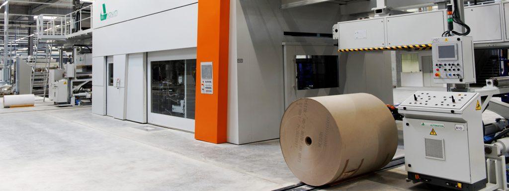 Header Fertigstellung Projektbild Projekt IE Packaging Produktionsstandort für DS Smith