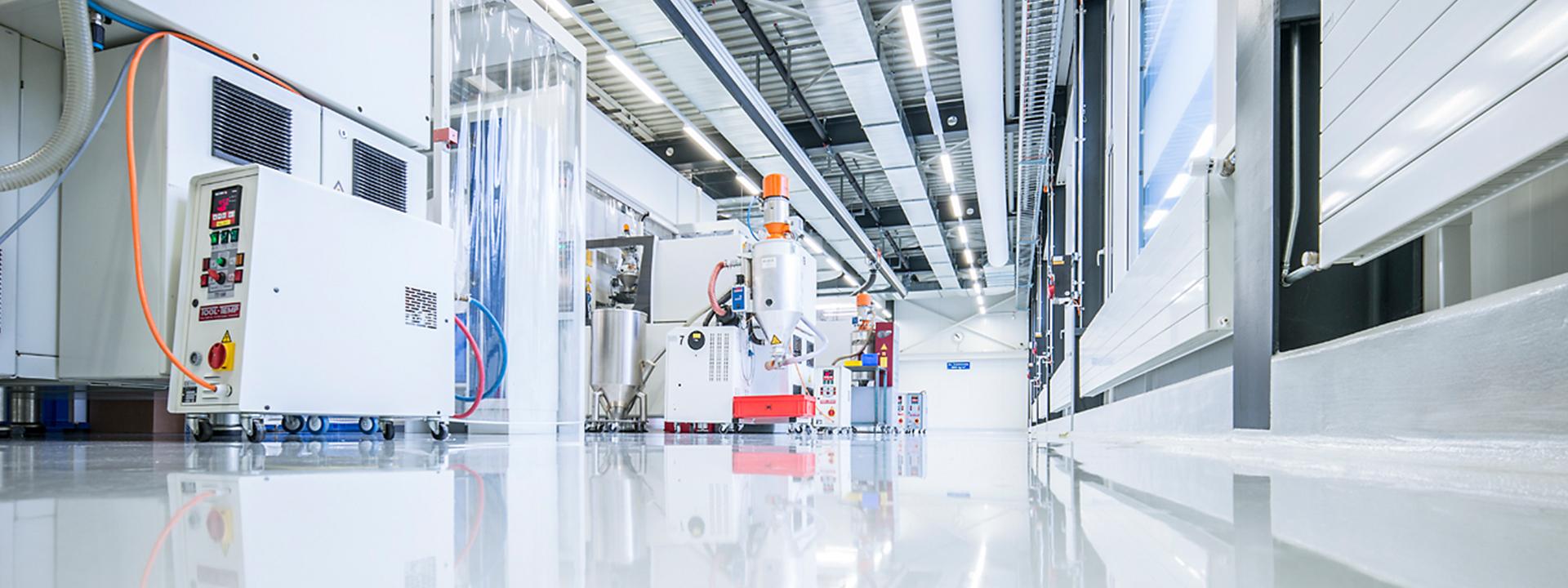 Ansicht von Projekt IE Plast bei Renggli Kunststoff für Medizintechnik