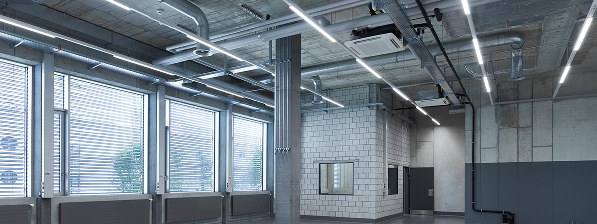 Innenansicht des Neubaus eines Hauptsitzes für die Anklin AG, geplant durch IE Technology