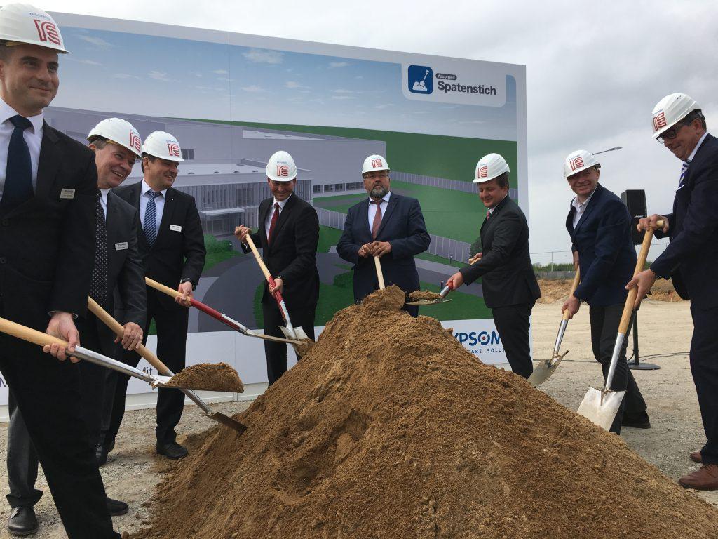 Spatenstich zum Neubau des Produktionsstandortes in Schwerin mit Ypsomed
