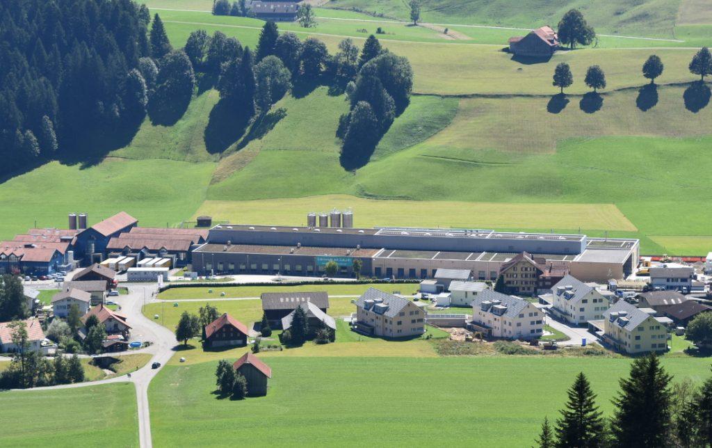 Ansicht Fertiger Ausbau des Stamdortes Escholzmatt von B.Braun