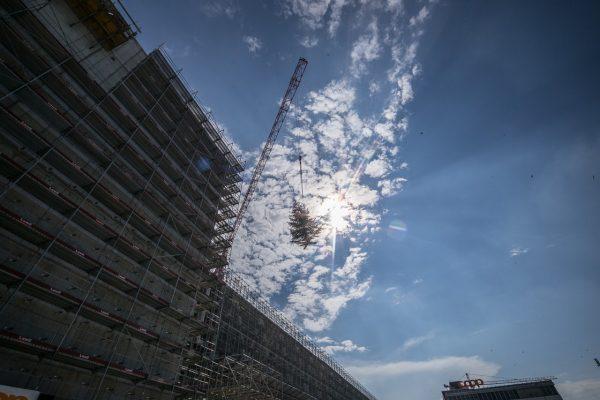 Coop Schafisheim: Aufrichte auf der grössten privaten Baustelle