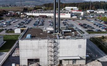 Neubau der Biomasse-Zentrale für Coop