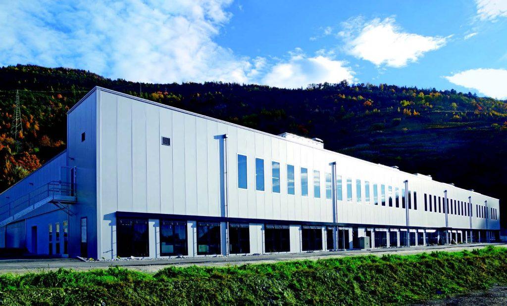 Ansicht des Neubaus eines zentralen Betriebs für Zenhäusern