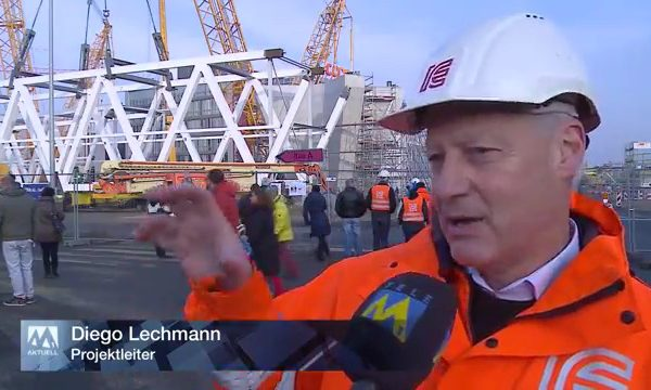 Coop Schafisheim: Meilenstein auf der grössten privaten Baustelle der Schweiz