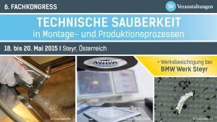 IE Technology am Fachkongress in Steyr 2015 – Technische Sauberkeit