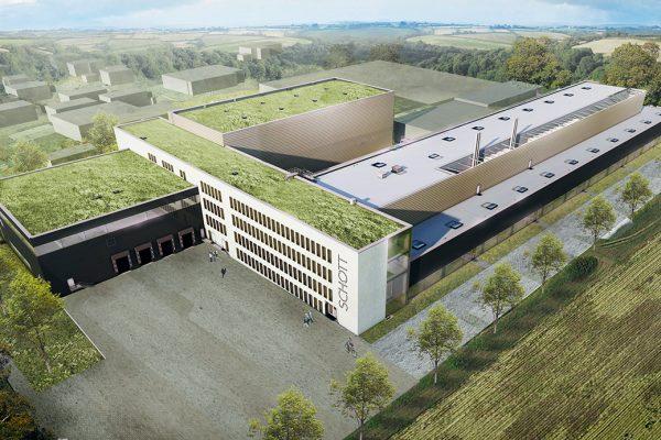 Spatenstich für neues Pharmaverpackungswerk von SCHOTT in Müllheim