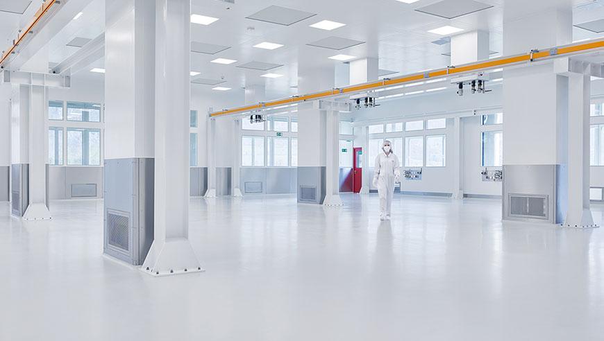 Umbau und Ausbau in Rekordzeit bei laufendem Betrieb, Weidmann Medical Technology AG.