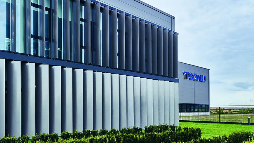 Beste Vorplanung von Wachstumsszenarien für die Idealfabrik der Ypsomed AG.