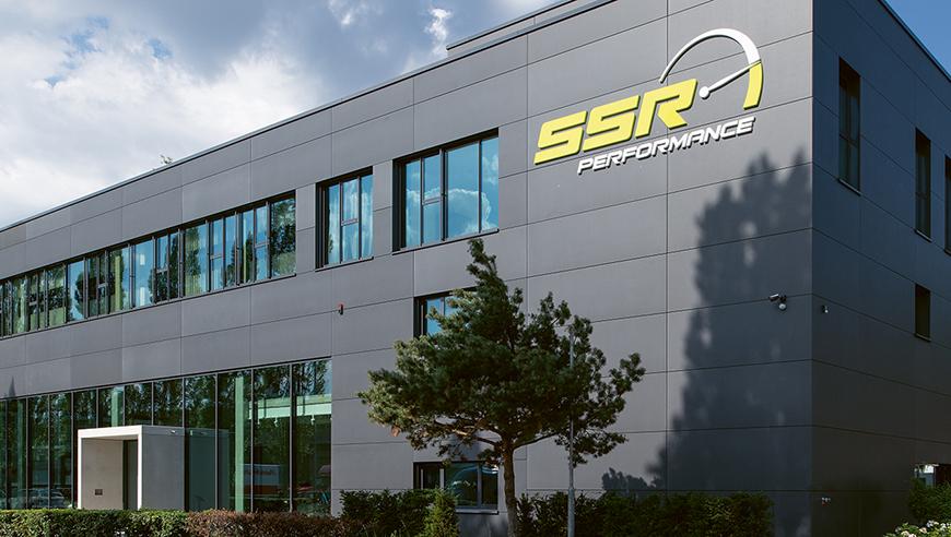 Aussenansicht des IE Industriebaus bei SSR