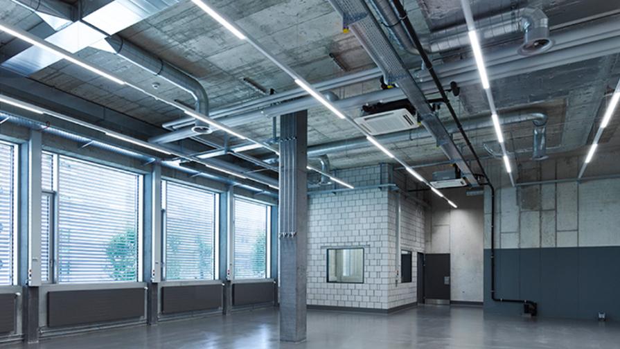 Vom Industriebauprojekt zur Hightechproduktion mit Reinraum.