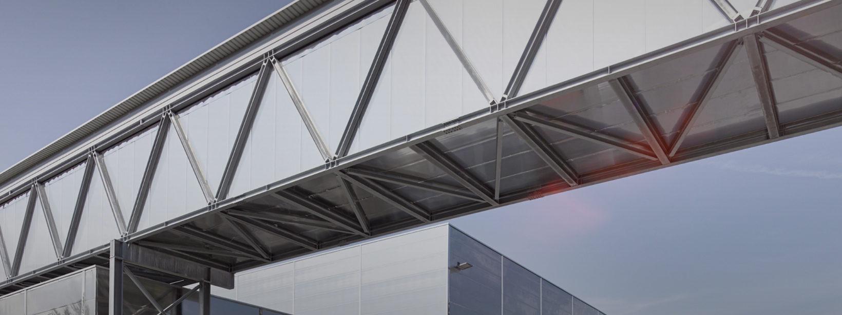 Ansicht IE-Außenbrücke bei MPreis