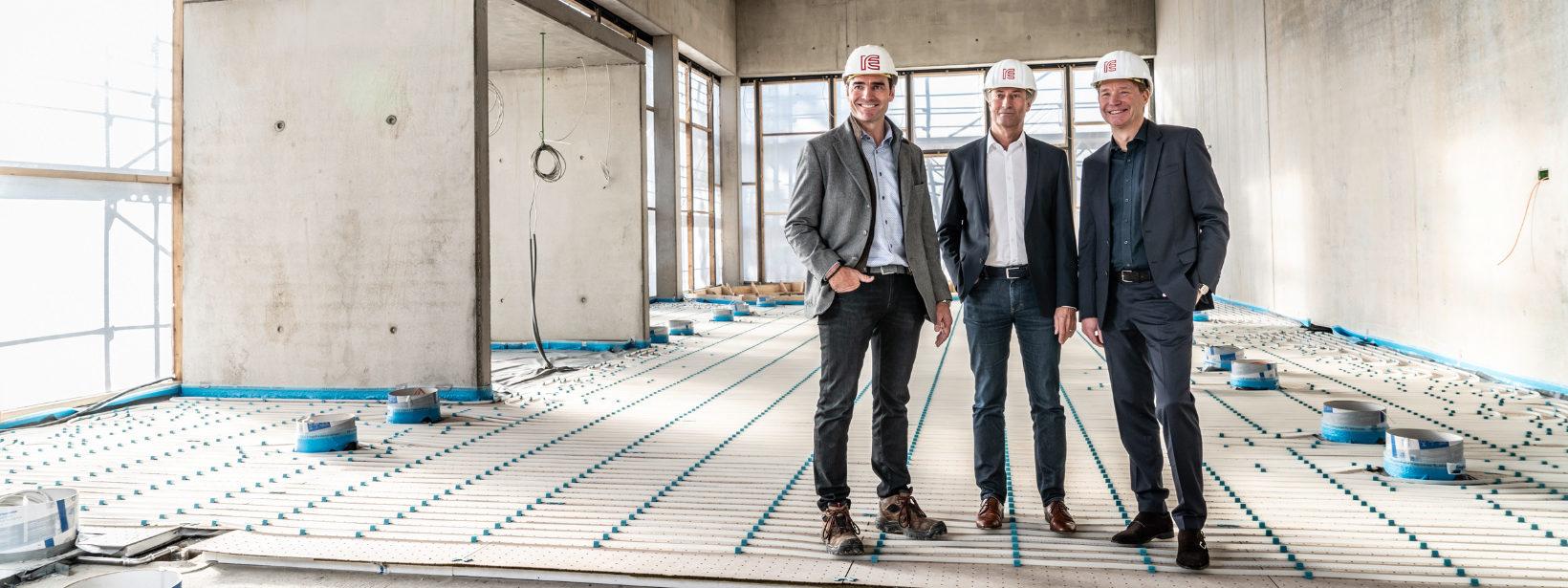 IE-Group steht für umfassende Expertise im Industriebau