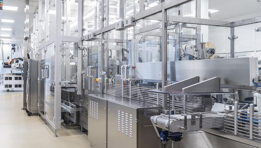 Verdoppelung der Reinraumproduktion für die SCHOTT Schweiz AG